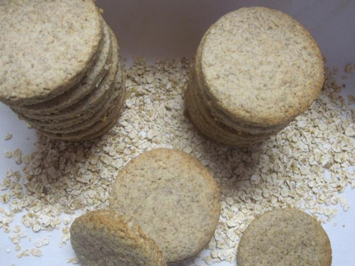 Zabpelyhes keksz elkészítés 2. lépés képe