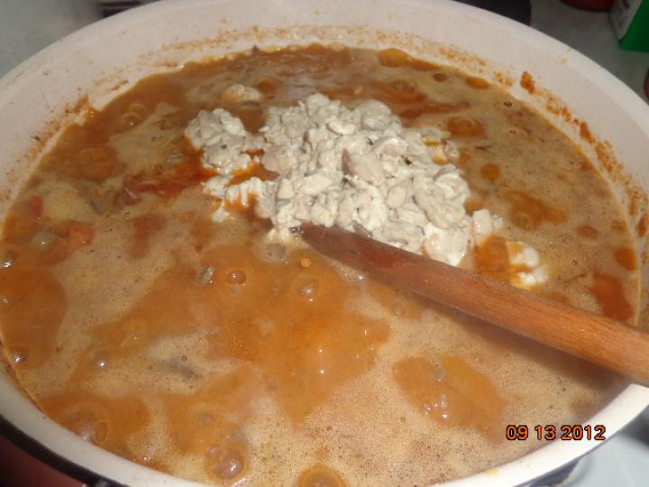 Hagymás-burgonyás muffin velővel töltve elkészítés 1. lépés képe