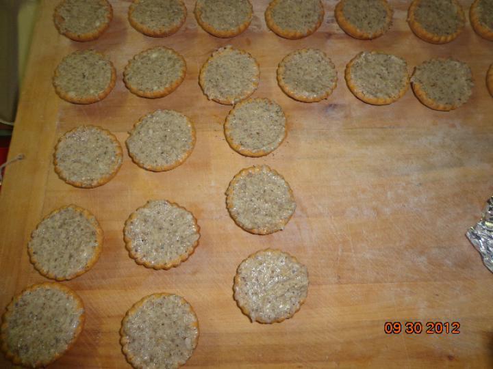 Lusta asszony kosárkái elkészítés 3. lépés képe