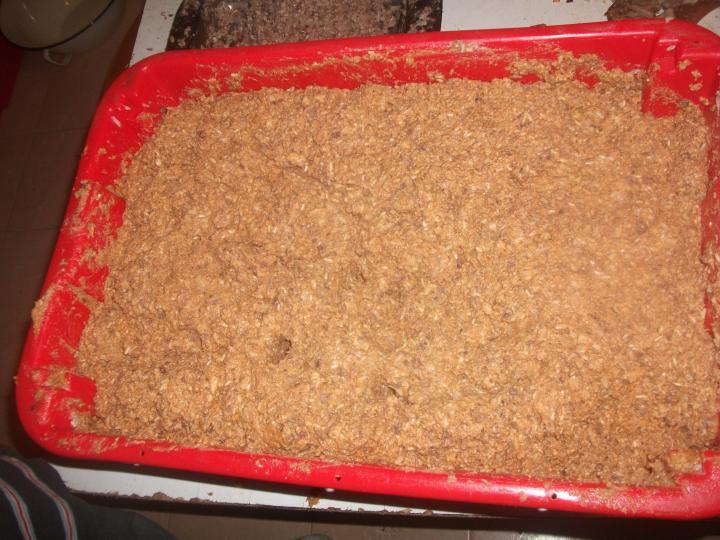 Kukorica kásás és rizses házi hurka elkészítés 3. lépés képe