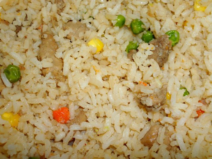 Zöldséges rizseshús, céklával elkészítés 4. lépés képe