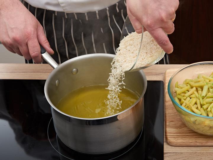 Rakott zöldbab elkészítés 3. lépés képe