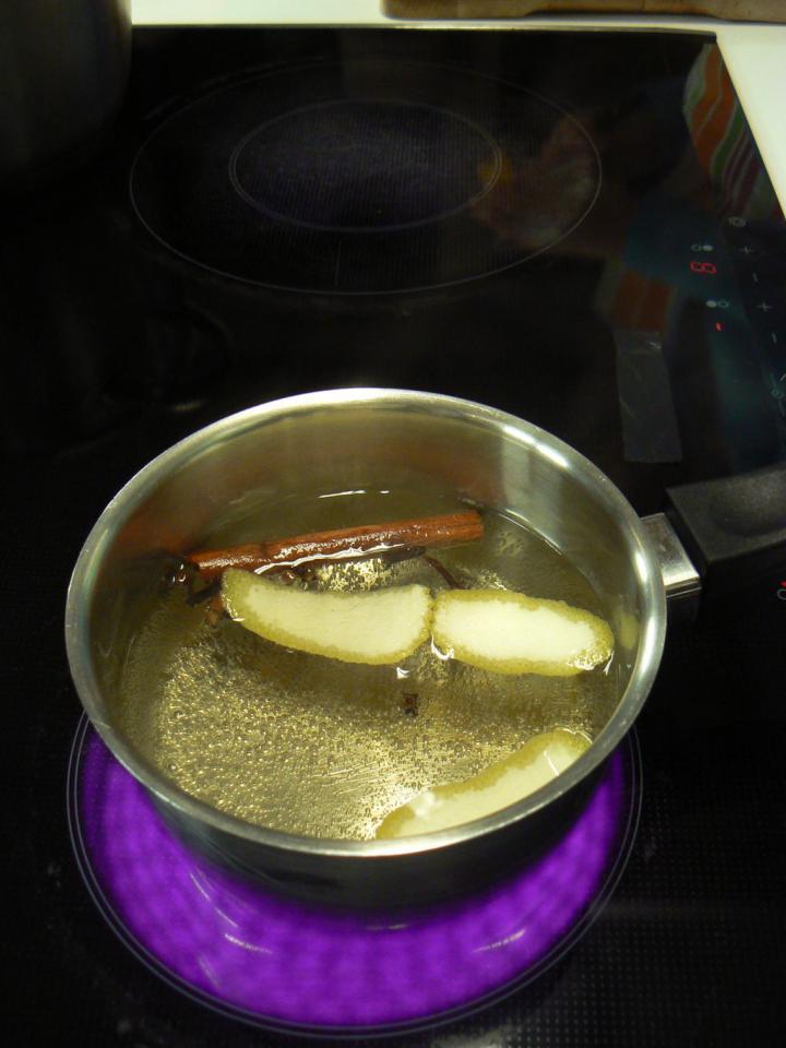 Gyümölcsleves elkészítés 1. lépés képe