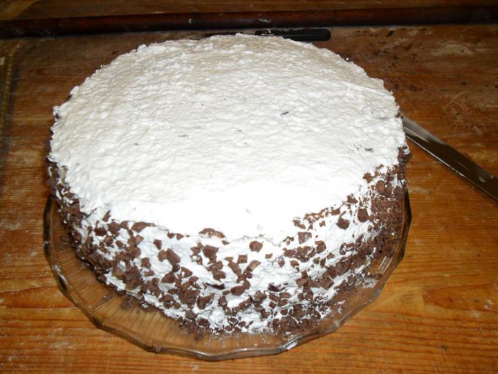 Feketeerdő torta elkészítés 7. lépés képe