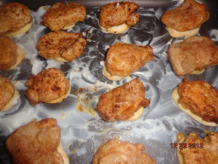 Krumplin sült libamájas szűzérme elkészítés 5. lépés képe