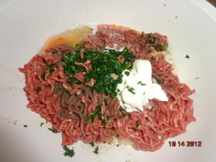 Dupla hússal töltött sertés dagadó elkészítés 1. lépés képe