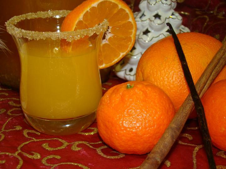 Karácsonyi narancs - mandarin likőr elkészítés 2. lépés képe