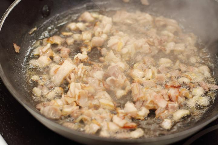 Bacon-krém elkészítés 2. lépés képe