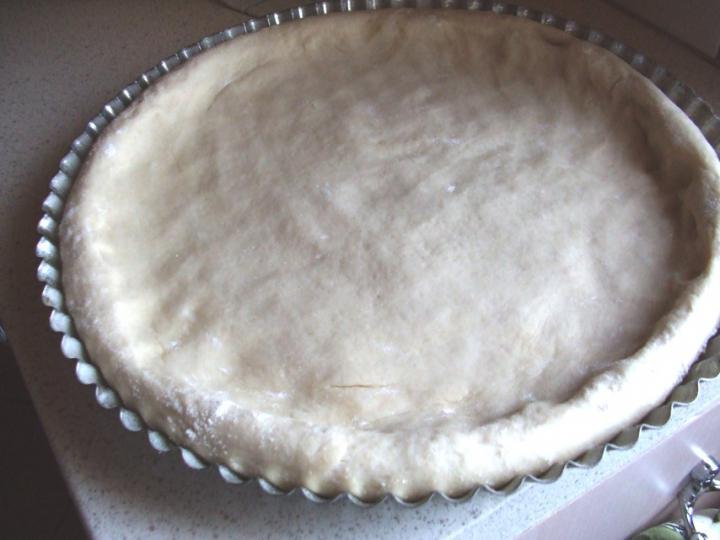Csirkés pizza carbonara alappal elkészítés 4. lépés képe
