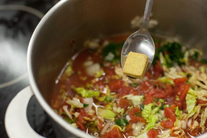 Toszkán fehérbab leves elkészítés 4. lépés képe