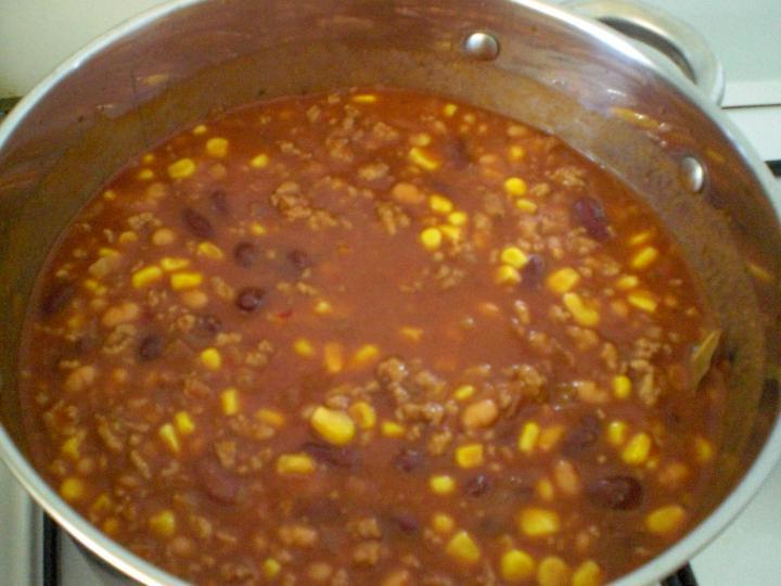 Chili con carne elkészítés 4. lépés képe