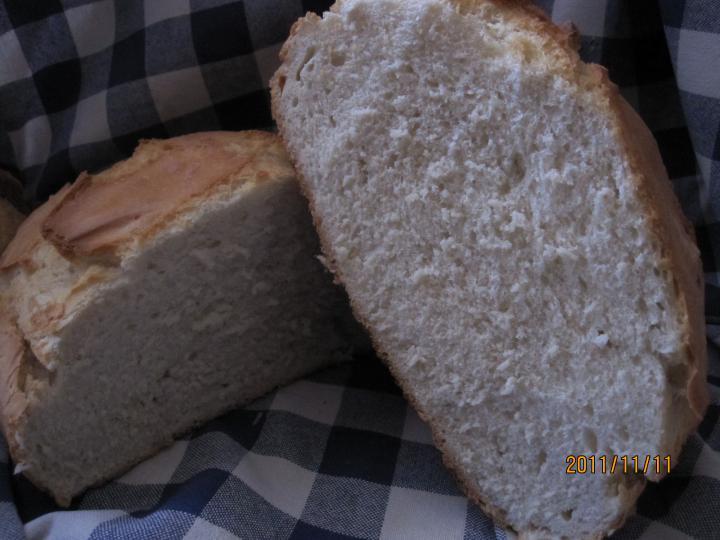 Házi kenyér sütőzacskóban sütve elkészítés 5. lépés képe