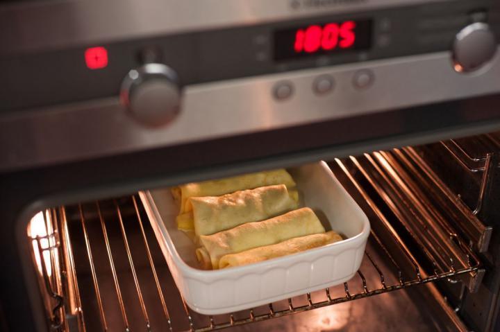 Burritók palacsintából elkészítés 5. lépés képe
