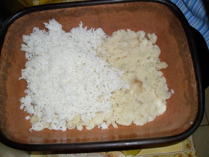 Rakott karfiol elkészítés 2. lépés képe
