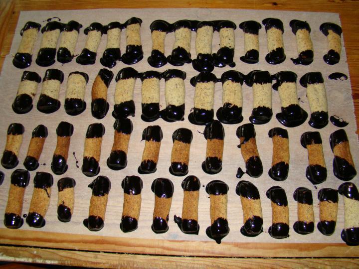 Mogyorós botok elkészítés 6. lépés képe