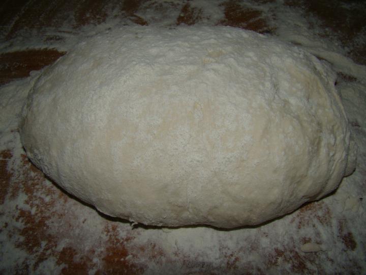Dagasztás nélküli kenyér elkészítés 4. lépés képe