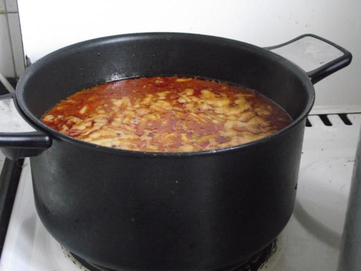 Palócleves marhahússal elkészítés 5. lépés képe