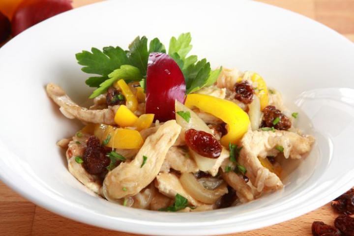 Fahéjas csirke korianderrel és rizzsel elkészítés 4. lépés képe
