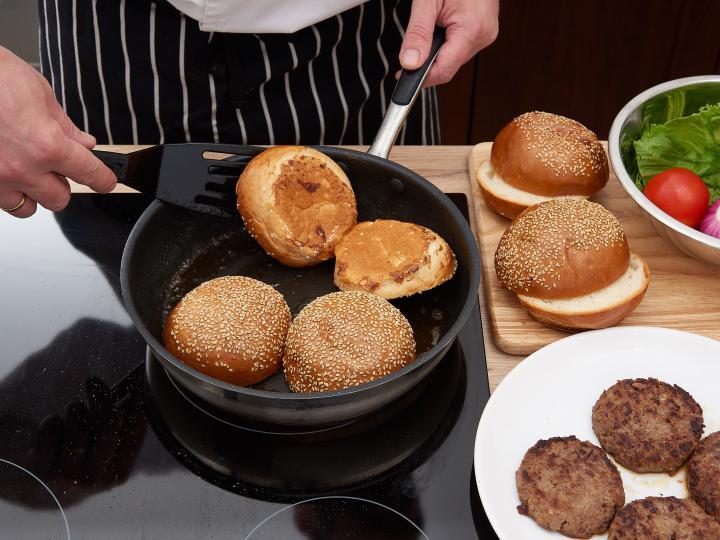 Hamburger elkészítés 9. lépés képe