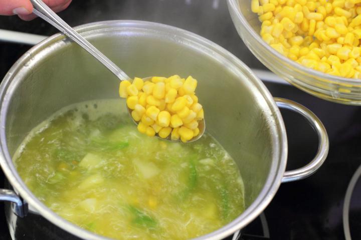 Kukoricaleves elkészítés 4. lépés képe