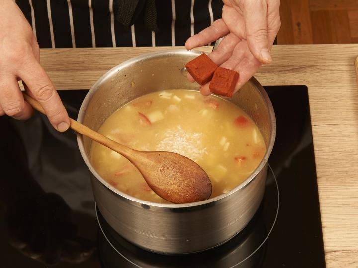 Bácskai rizses hús elkészítés 4. lépés képe
