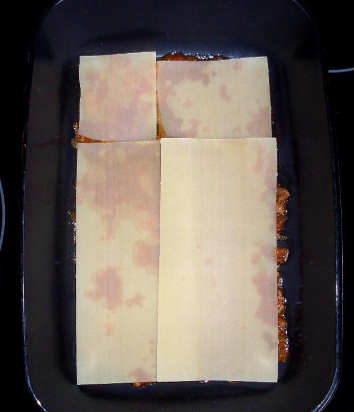 Bolognai lasagne elkészítés 4. lépés képe
