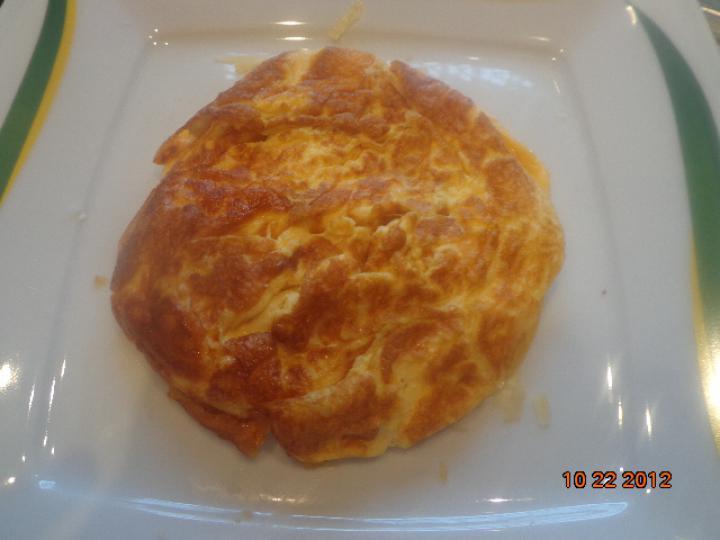 Három sajtos dupla mini omlett elkészítés 6. lépés képe