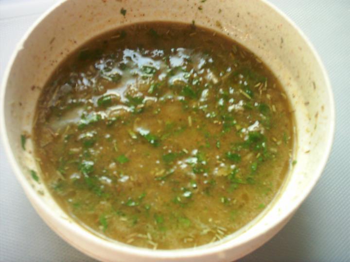 Fűszeres göngyölthús sütőben, párolt zöldségekkel elkészítés 1. lépés képe