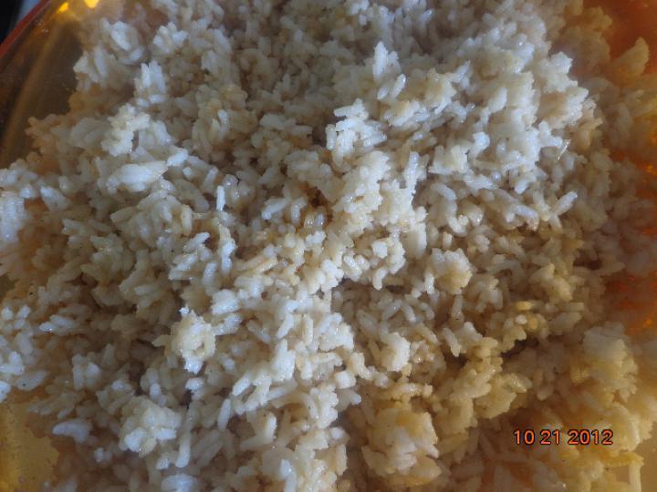 Balinéz sült csirkecomb rizzsel elkészítés 4. lépés képe
