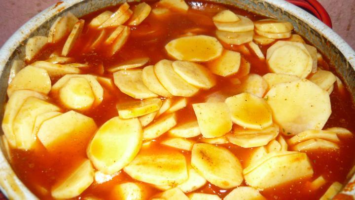 Krumplis tészta elkészítés 5. lépés képe