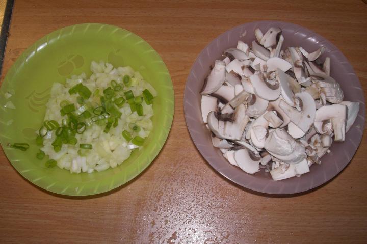 Csirke sztroganoff elkészítés 2. lépés képe