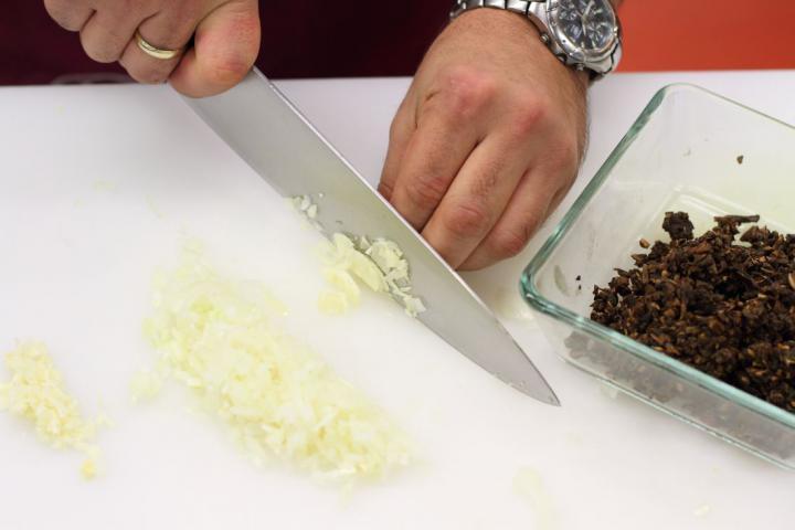 Lengyel cappelletti gombával elkészítés 3. lépés képe