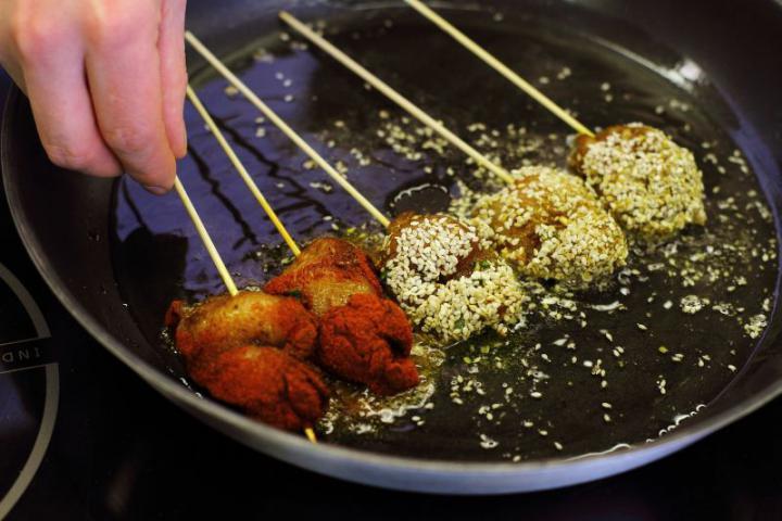 Csirkemell kínai pácban elkészítés 4. lépés képe