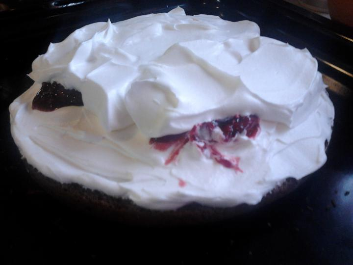 Feketeerdő torta xilittel elkészítés 8. lépés képe