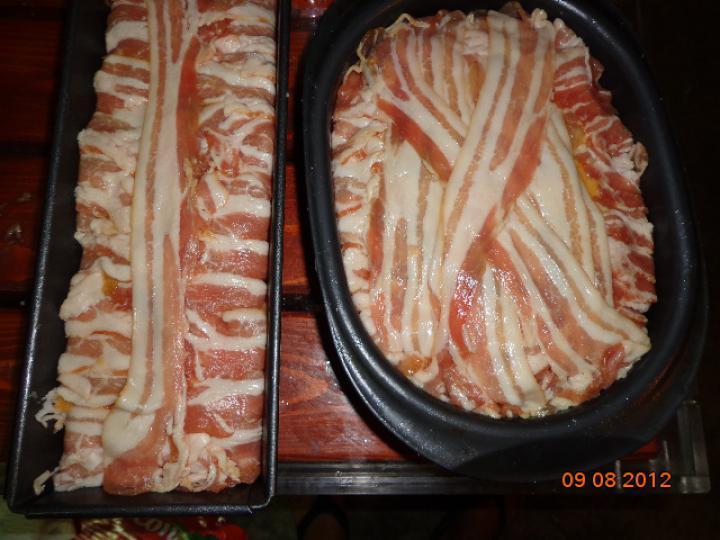 Csirke torta elkészítés 4. lépés képe