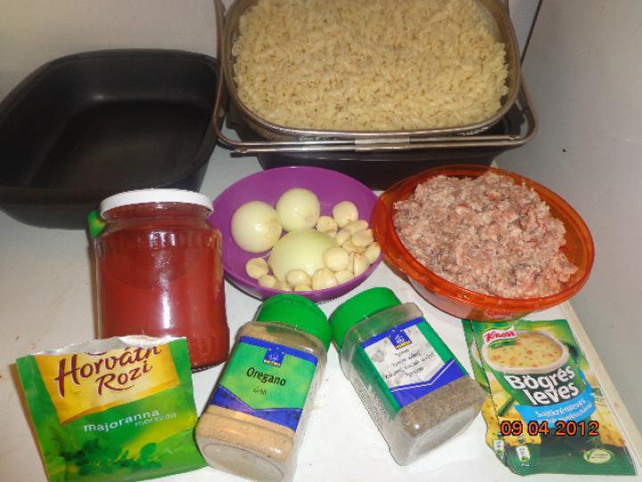 Hamis lasagne elkészítés 1. lépés képe