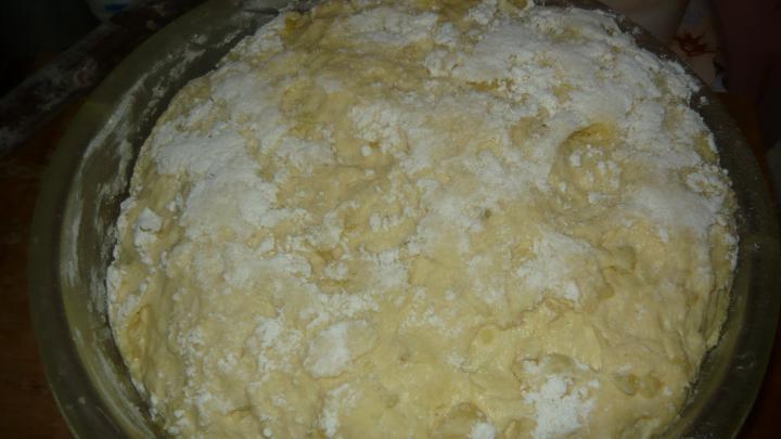 Burgonyás pogácsa elkészítés 6. lépés képe