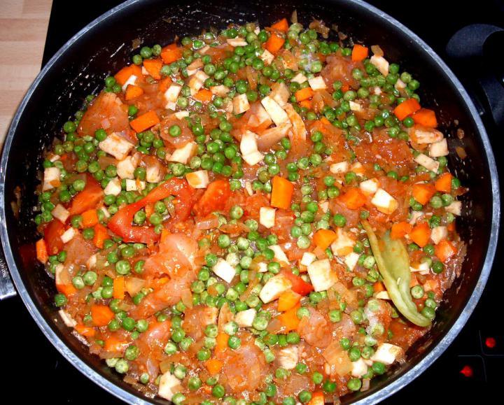 Zöldséges rizses hús elkészítés 2. lépés képe