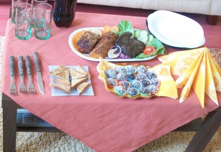 Vendégváró libamáj és fasírt elkészítés 5. lépés képe