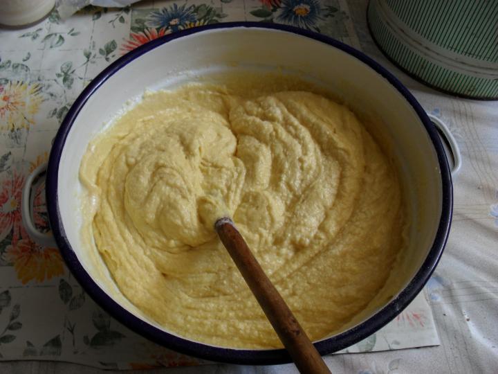 Szilvás, kevert tészta elkészítés 1. lépés képe