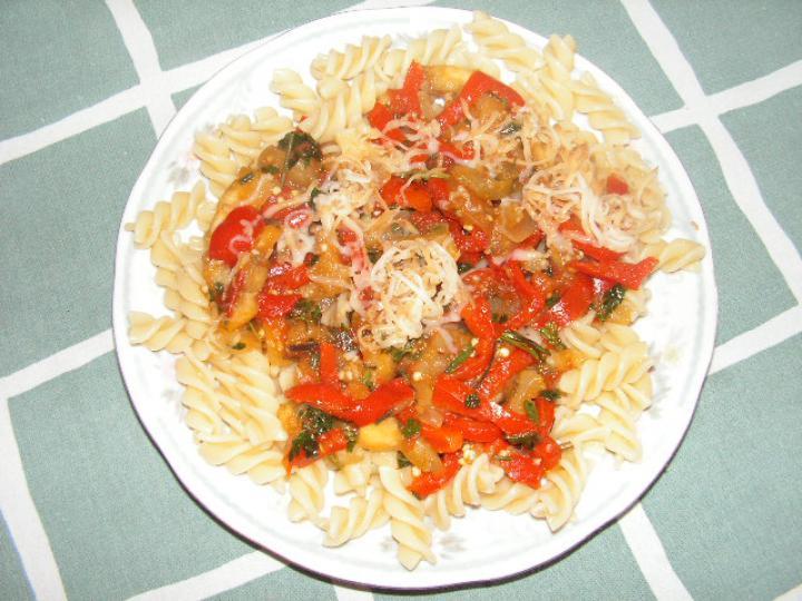 Zöldséges, zöldfűszeres tészta elkészítés 4. lépés képe