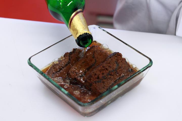 Lengyel ponty sörrel és mézeskaláccsal elkészítés 2. lépés képe