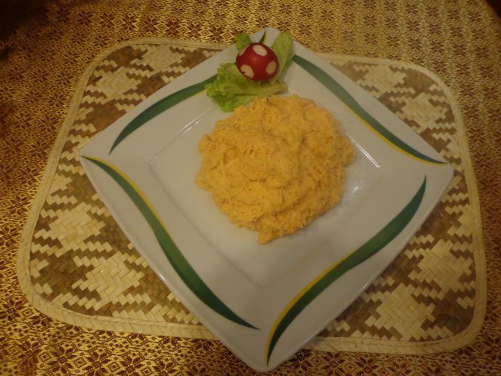 Nagymuzsalyi paprikás krumpli püré elkészítés 1. lépés képe