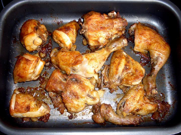 Zacskóban sült omlós csirke elkészítés 3. lépés képe