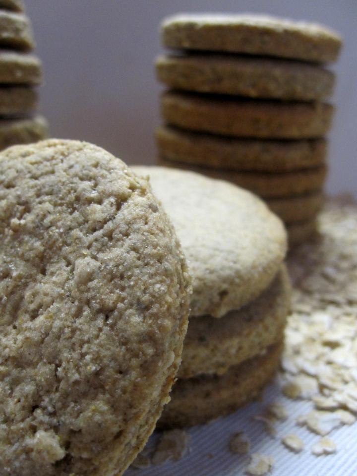 Zabpelyhes keksz elkészítés 3. lépés képe