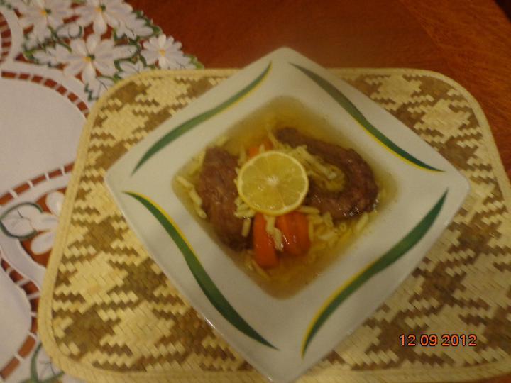 Vadkacsa leves elkészítés 2. lépés képe