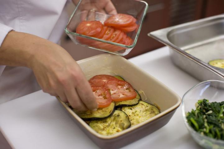 Zöldséges lasagne elkészítés 4. lépés képe