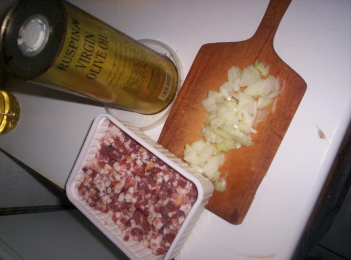 Olasz zöldségleves elkészítés 2. lépés képe