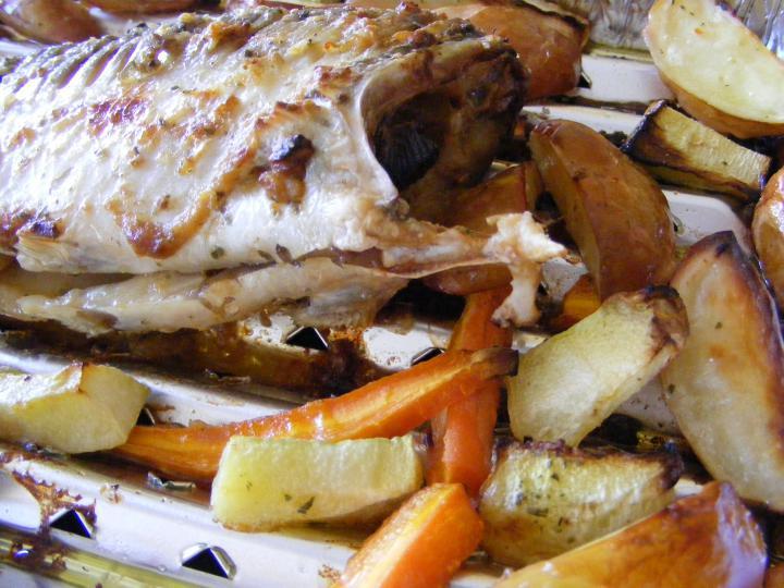 Grillezett hal zöldségekkel elkészítés 2. lépés képe