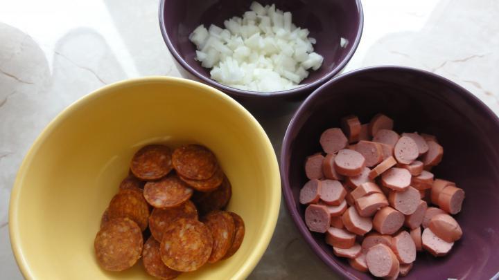 Paprikás krumpli elkészítés 1. lépés képe